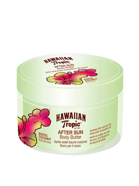 Billede af Hawaiian Tropic Body Butter Coconut 200 ml Aftersun Transparent