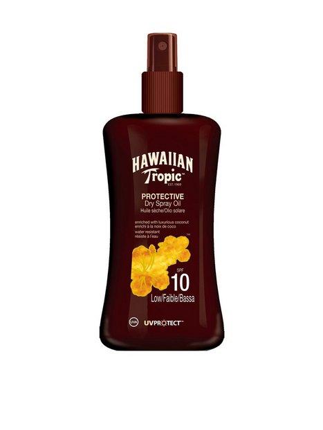 Billede af Hawaiian Tropic Protective Dry Spray Oil SPF 10 200 ml Solfaktor Transparent