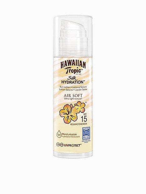 Billede af Hawaiian Tropic Silk Hydration Air Soft Pump Sun Lotion SPF 15 150 ml Solfaktor Hvid