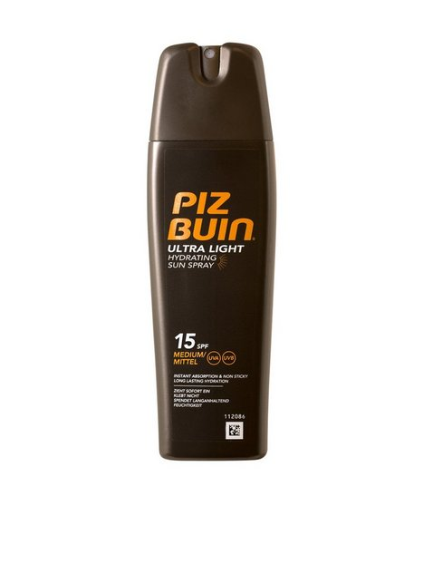 Billede af Piz Buin Ultra Light Hydrating Spray SPF 15 150ml Solcremer