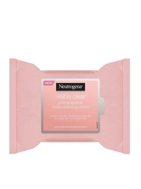 Billede af Neutrogena Pink Grapefruit facial cleansing Wipes Ansigtsrens
