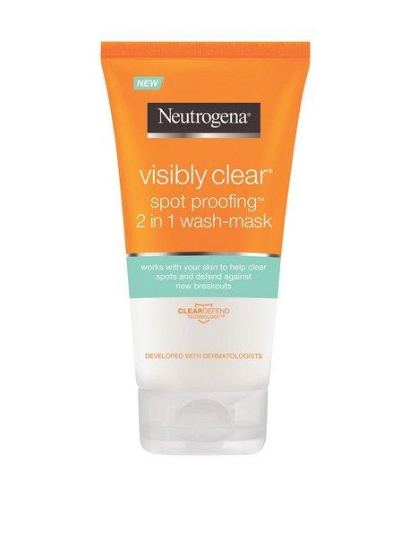 Billede af Neutrogena Visibly Clear Spot proofing 2 in 1 wash-mask Ansigtsrens