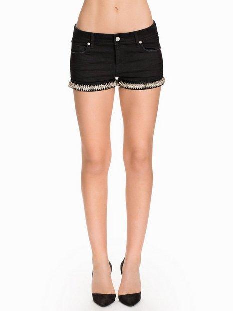 Billede af NLY ICONS Diamond Black Shorts Shorts Sort