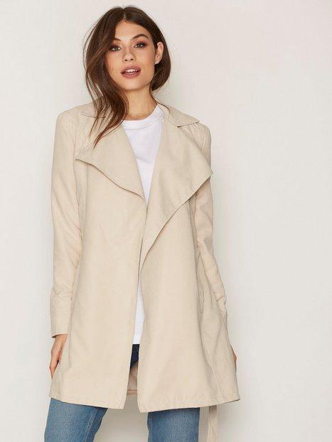 Billede af NLY Trend Soft Spring Trench Coat Trenchcoat Beige