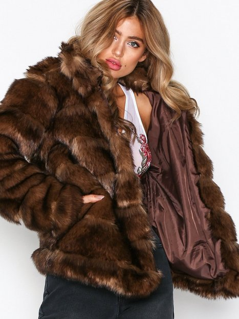 Puffy Fur Coat