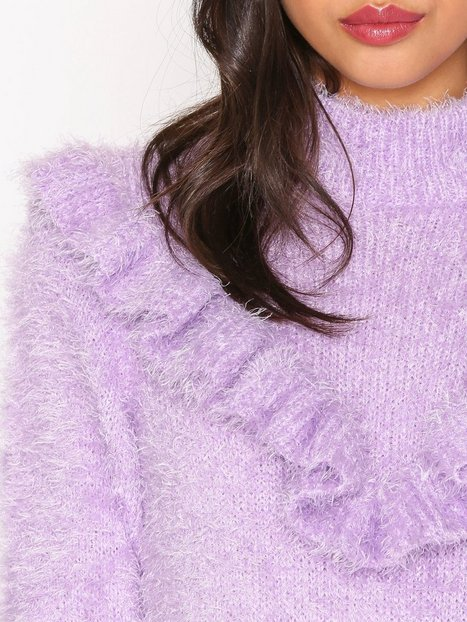 Frill Knit Sweater