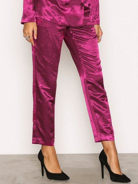 NLY Trend Dress You Up Pants Byxor Fuchsia thumbnail