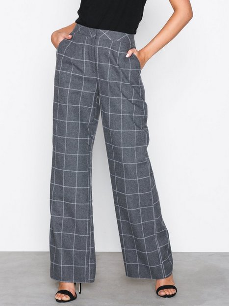 Casual Check Pants