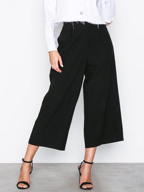Billede af NLY Trend Culotte Pants Bukser Sort