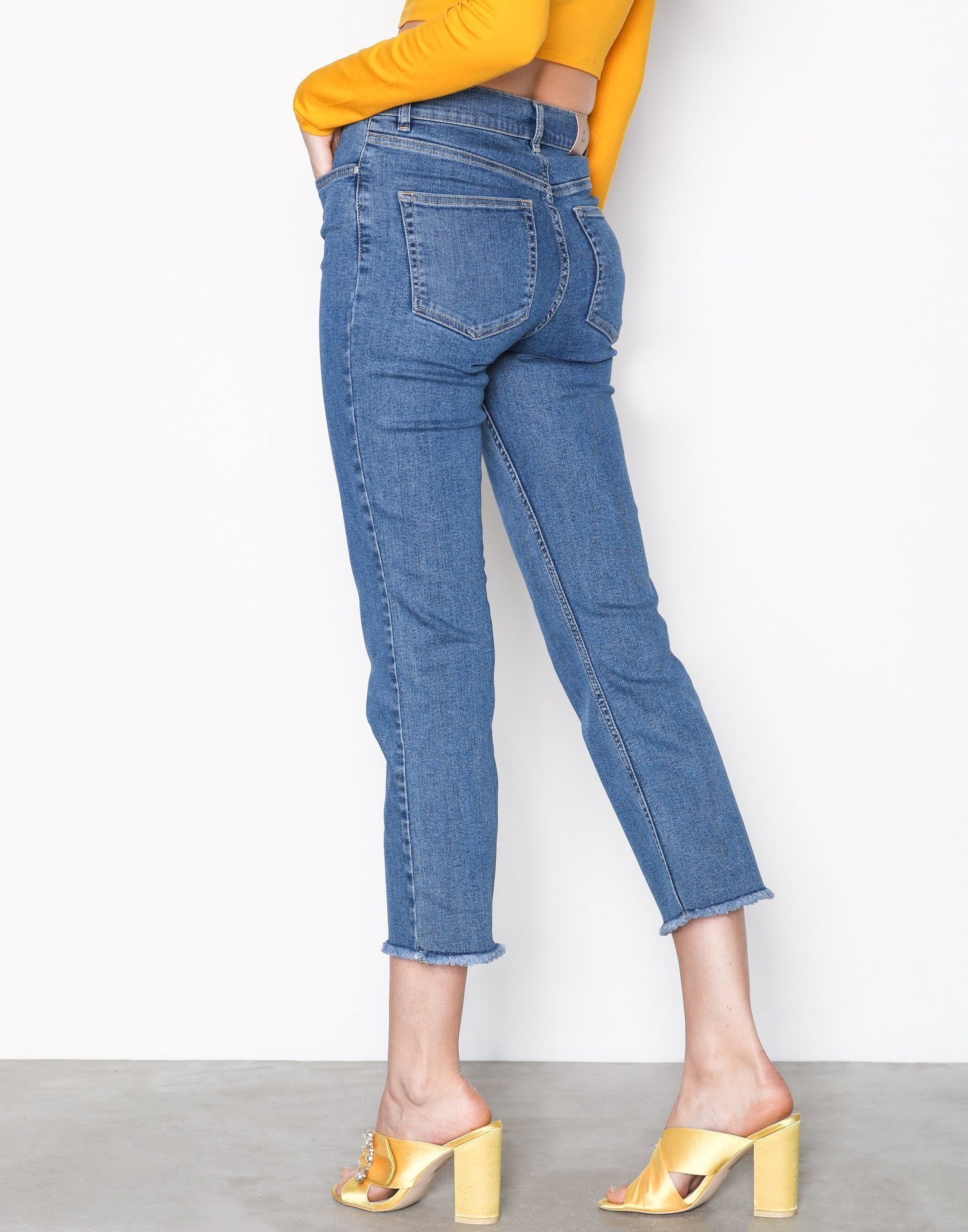 Trend Jeans Flare Clothing Cropped Nly Superstretch Blue wf4n1txq