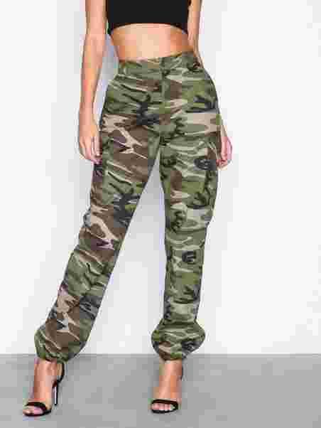 5b73b980 Cargo Pants - Nly Trend - Camo - Bukser & Shorts - Klær - Kvinne ...