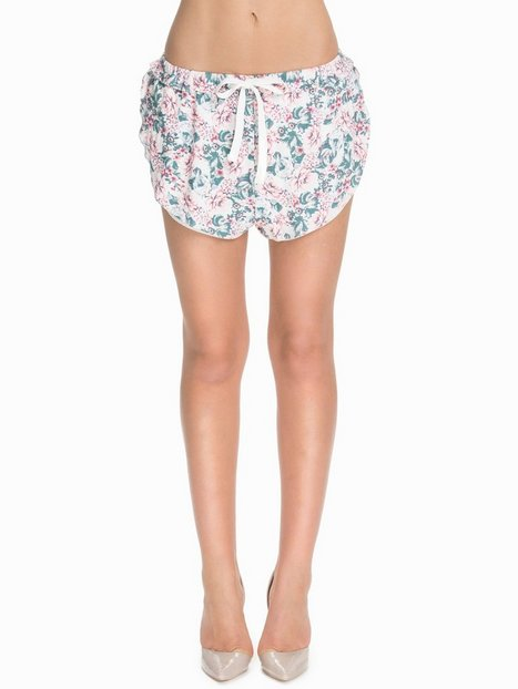 NLY Blush Printed Loose Fit Shorts Shorts Mönstrad thumbnail