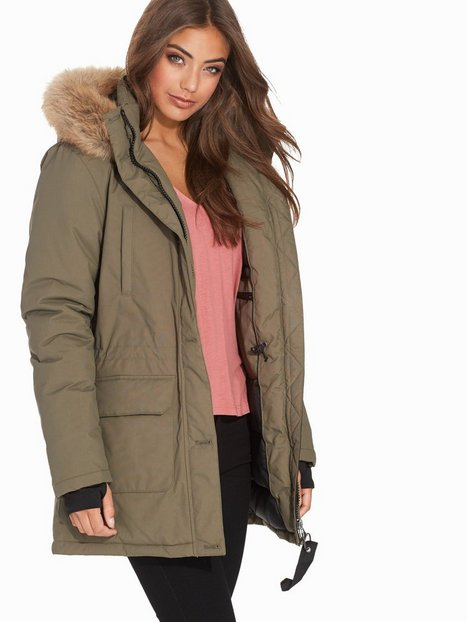 City Parka - Nly Trend - Olive Green - Jackets - Clothing - Women ...