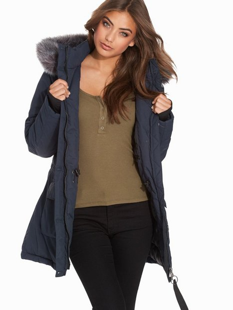 City Parka - Nly Trend - Dark Blue - Jackets - Clothing - Women ...