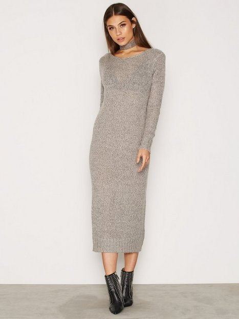 Low Back Knit Dress