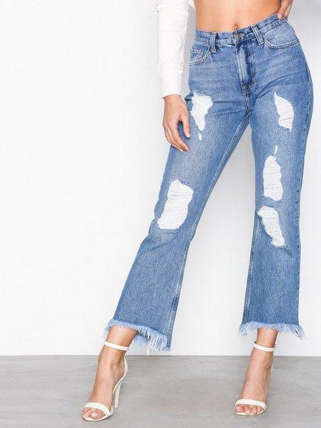 Billede af NLY Trend Cheeky Fit Flare Denim Bootcut & Flare Blue Wash