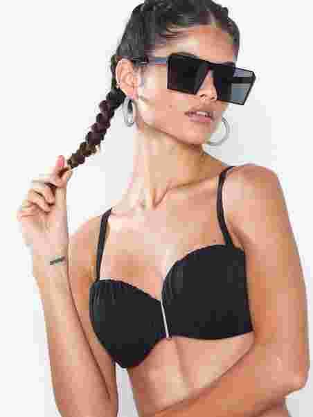 138d88d448 Fiji Bandeau Bikini Top - Dorina - Black - Bikinis - Swimwear ...