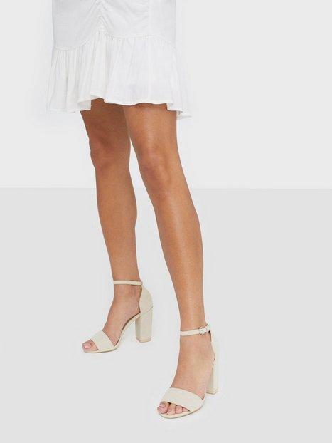 Billede af NLY Shoes Block Heel Sandal High Heel Beige