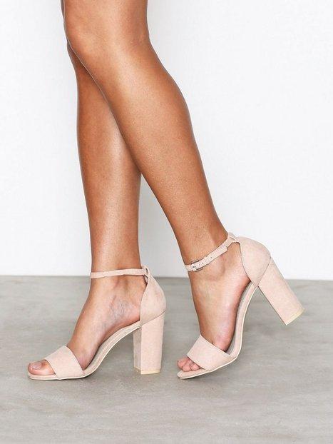 Billede af NLY Shoes Block Heel Sandal High Heel Dusty Pink