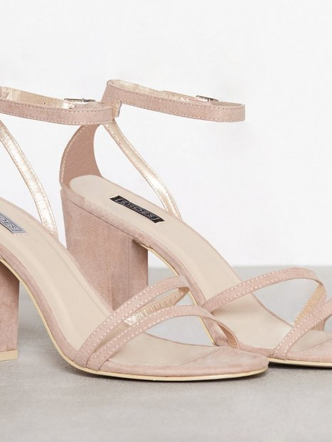 Double Strap Block Sandal