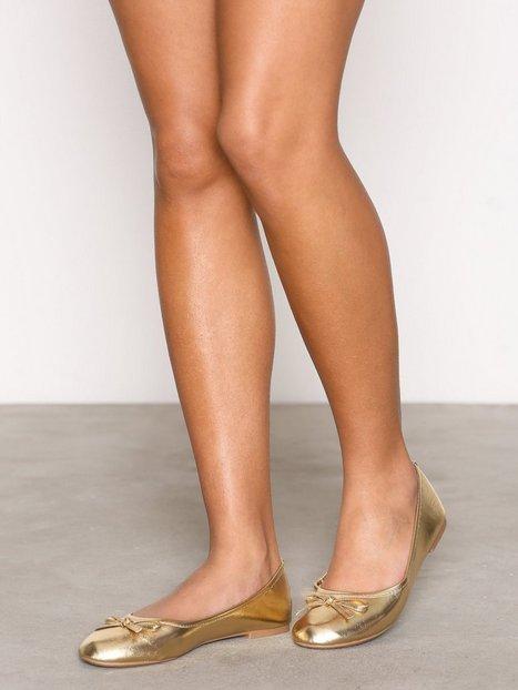 Billede af NLY Shoes Ballerina Ballerina Metallic Gold