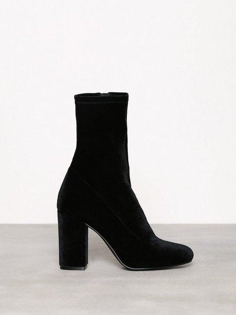Billede af NLY Shoes Stretchy Block Boot Boots Sort