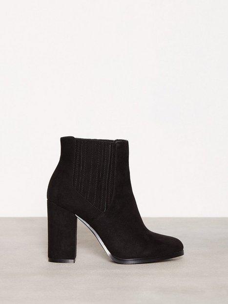 Billede af NLY Shoes Block Boot Heel Sort