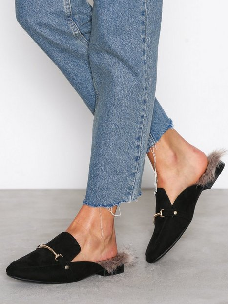 Billede af NLY Shoes Slip Loafer Loafers Sort