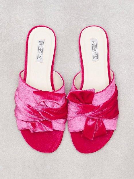 NLY Shoes Twist Sandal Tøfler Rosa/Lyserød