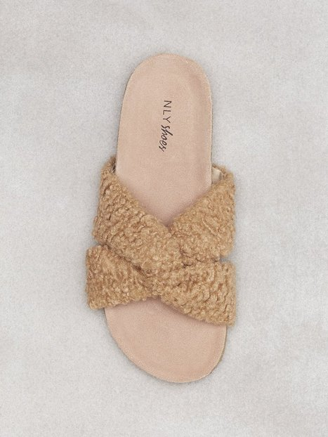 Curly Fuzzy Sandal NLY Shoes recommend cheap online 3ZGXxUz