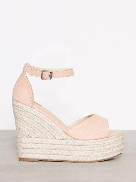 Billede af NLY Shoes Wedge Heel Sandal Wedge Lys Rosa