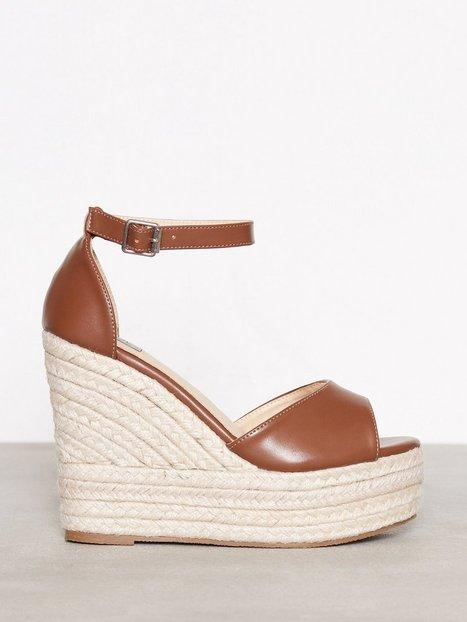 Billede af NLY Shoes Wedge Heel Sandal Wedge Brun