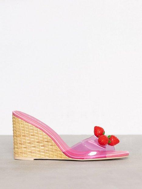 Billede af NLY Shoes Fruit Wedge Wedge Rosa/Lyserød