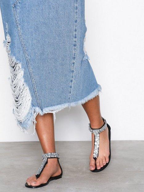 Billede af NLY Shoes Bling Sandal Sandaler Sort