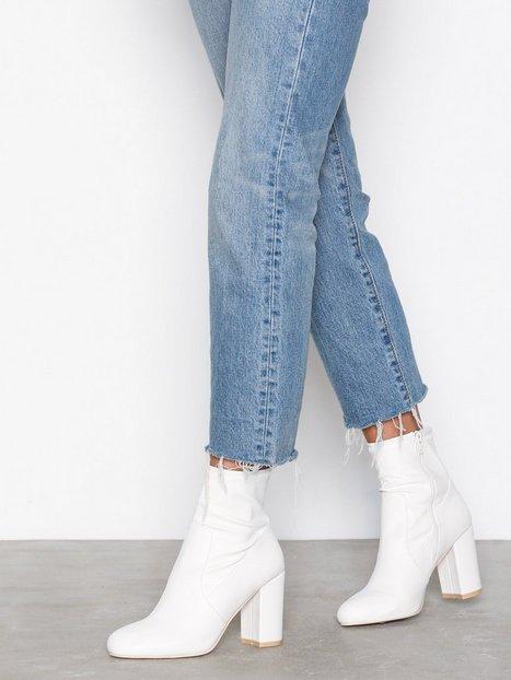 Billede af NLY Shoes Basic Block Boot Heel Hvid