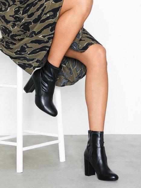 Billede af NLY Shoes Basic Block Boot Heel Sort
