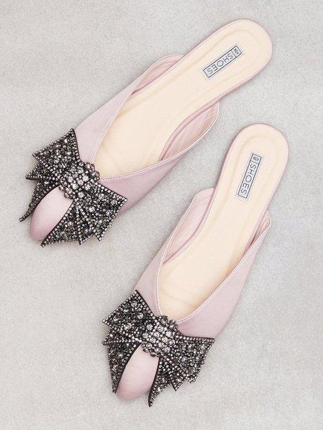 Billede af NLY Shoes Pointy Bow Sandal Loafers