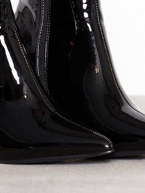 Patent Stiletto Boot