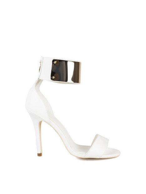 Billede af NLY Shoes Cuffed Heels Hvid