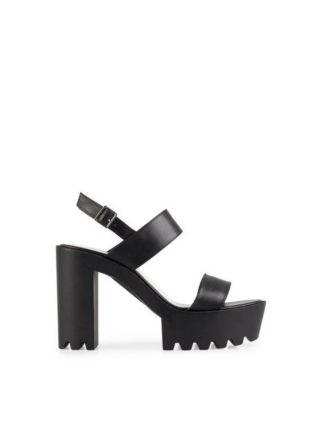 High Heel Cleated Sandal