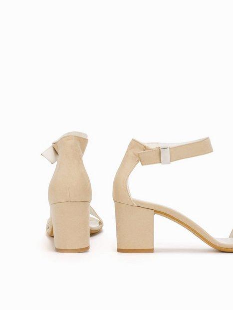 Mid Block Heel Sandal
