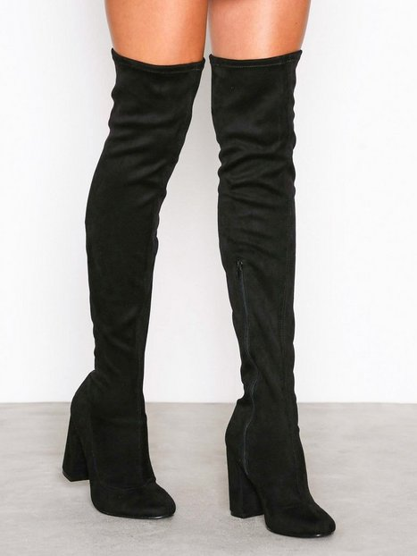 Billede af NLY Shoes Block Heel Thigh Boot Thigh-high