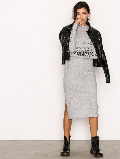 Billede af Cheap Monday Strict Long Dress Langærmet kjole Grey Melange
