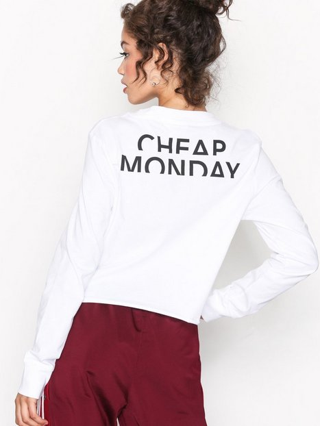 Billede af Cheap Monday Bed LS tee T-shirt White