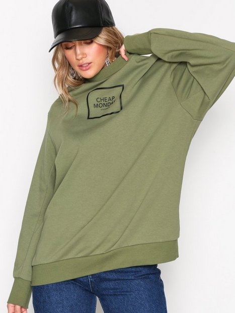 Billede af Cheap Monday Con sweat Square logo Sweatshirts Olive