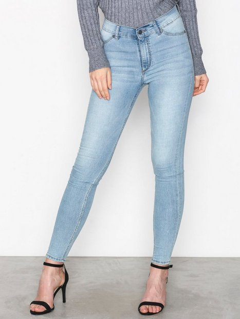 Billede af Cheap Monday High Spray Stone Bleach Jeans Light Blue
