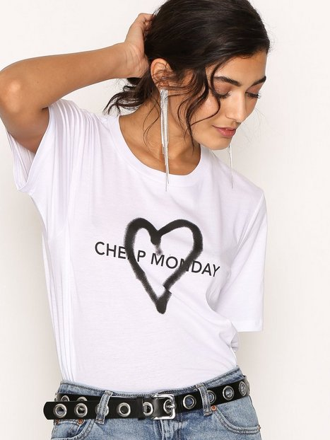 Billede af Cheap Monday Breeze Tee T-shirt White