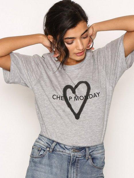 Billede af Cheap Monday Breeze Tee T-shirt Grey Melange