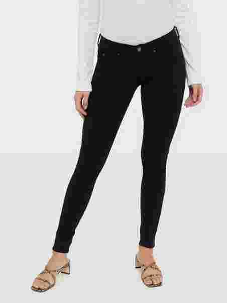 915d258ba138 Shoppa Skinny Low Waist Superstretch Jeans - Online Hos Nelly.com