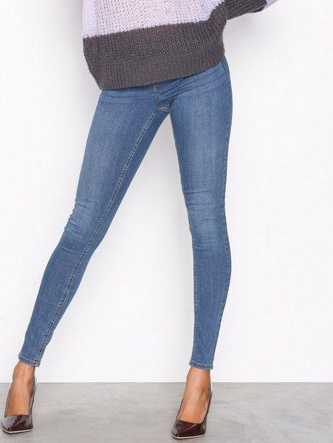 Billede af Gina Tricot Alex Low Waist jeans Skinny Dark Blue Denim